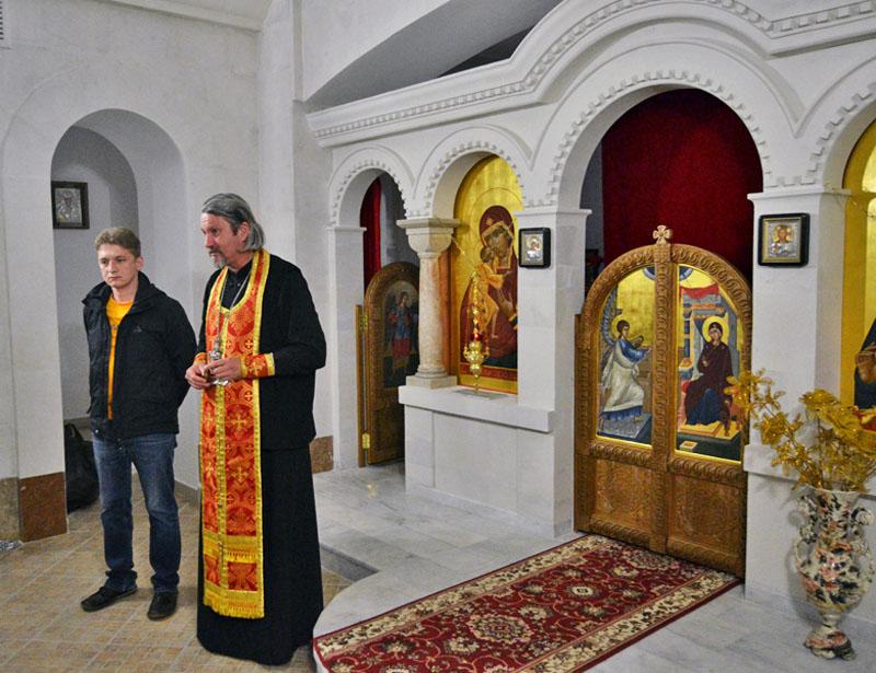 В Свято-Никольском храме прошла благотворительная акция Фонда Андрея Первозванного