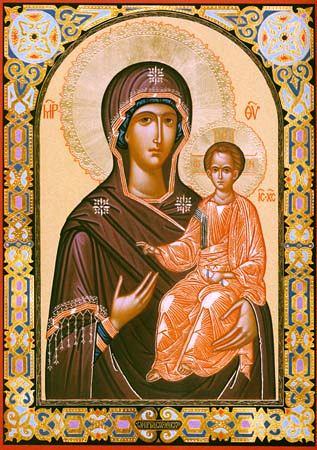 икона смоленская божьей матери фото