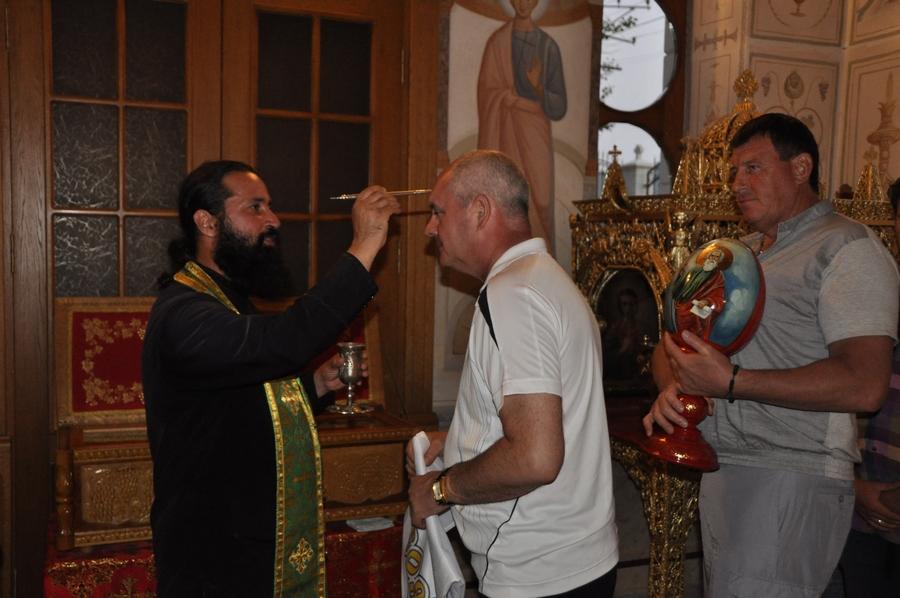 Делегация фонда святого апостола Андрея Первозванного посетила инкерманский Свято-Климентовский мужской монастырь