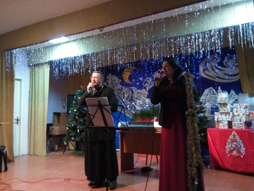 духовно-просветительская концертная программа «Рождественская звезда» в Приветном