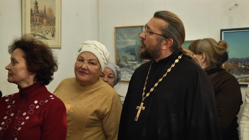 Праздник Крещения Господня в Доме-музее писателя И.С.Шмелева