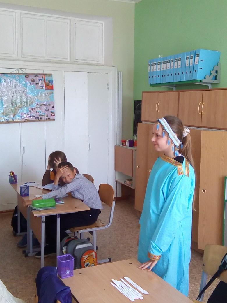 Православная постановка в школе села Рыбачье