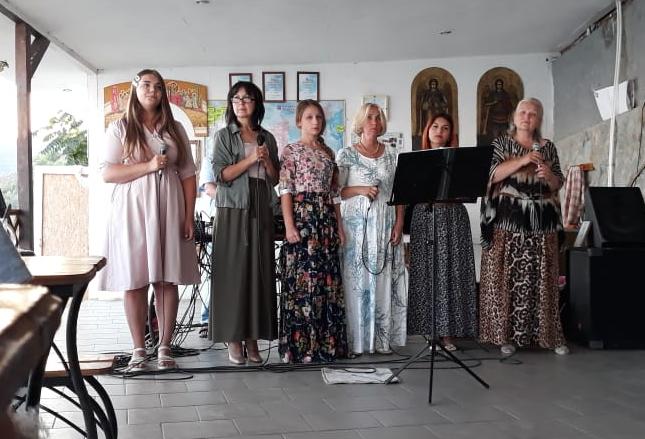 Концерт ансамбля «Тимпан» в Православном центре «Фавор» (с.Рыбачье)