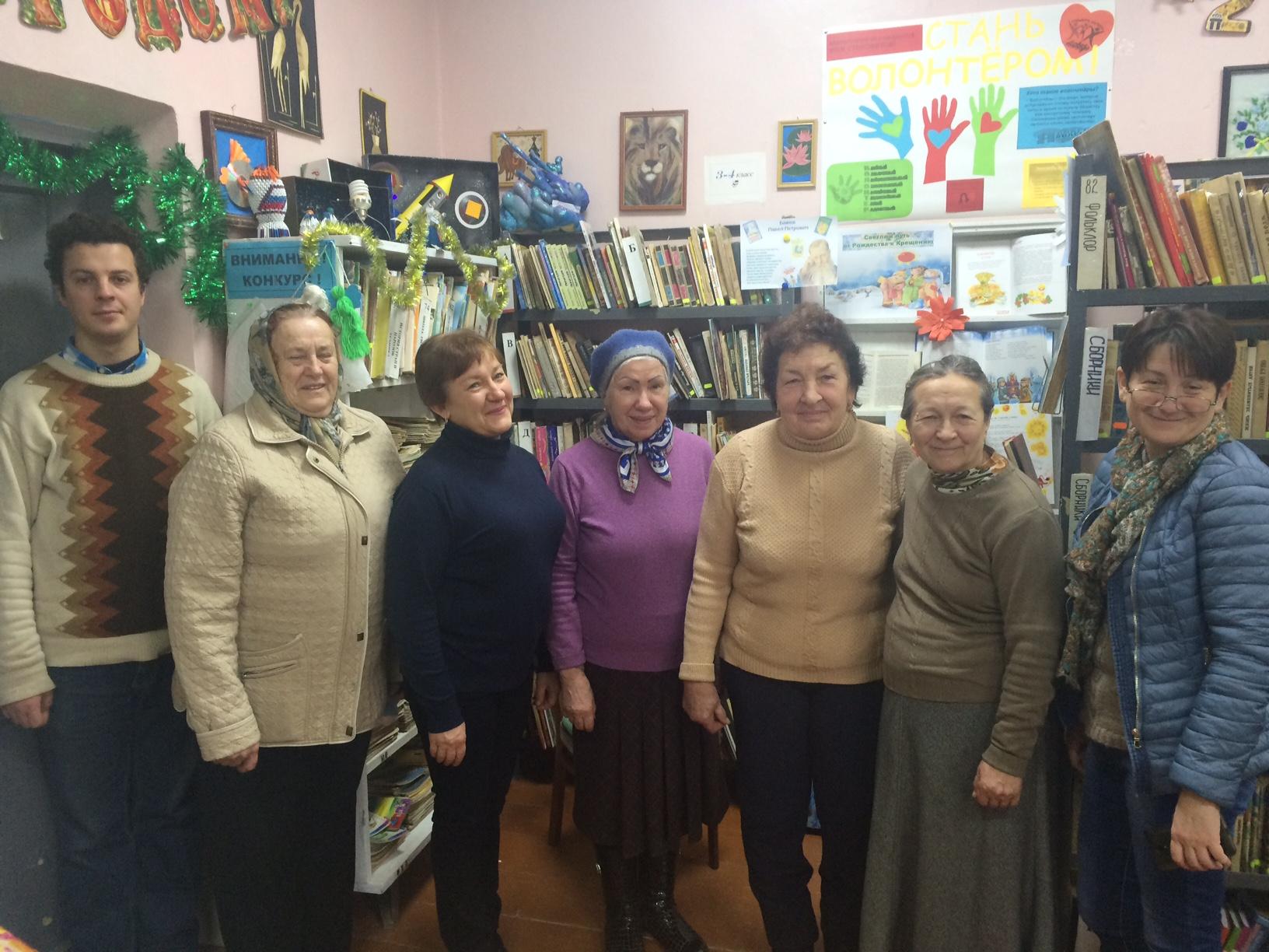 Просветительская беседа в рамках дней православной культуры в селе Рыбачье